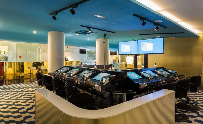 Casino Atlántico Comar, Sala Juegos Electronicos