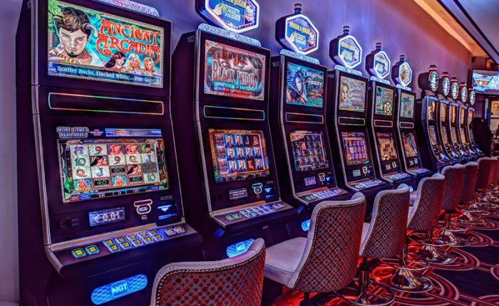 Casino Gran Vía Comar, Máquinas Recreativas