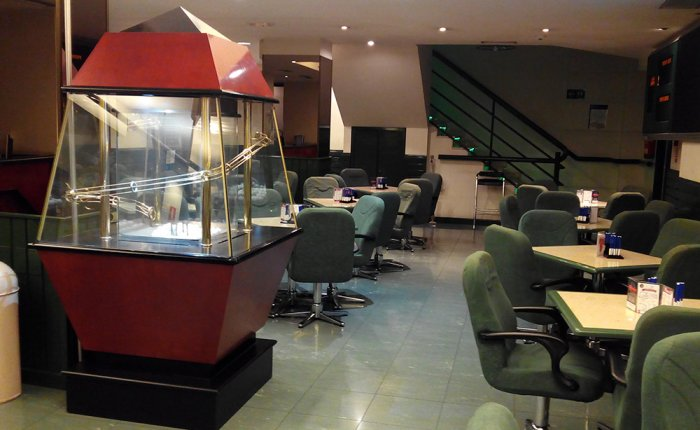 Ronda Coruña Comar, Sala de bingo