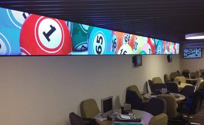 Bingo Rubine Coruña Comar, Sala de Bingo