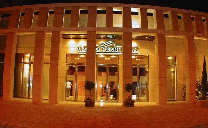 Casino Conde Luna Comar, Exterior