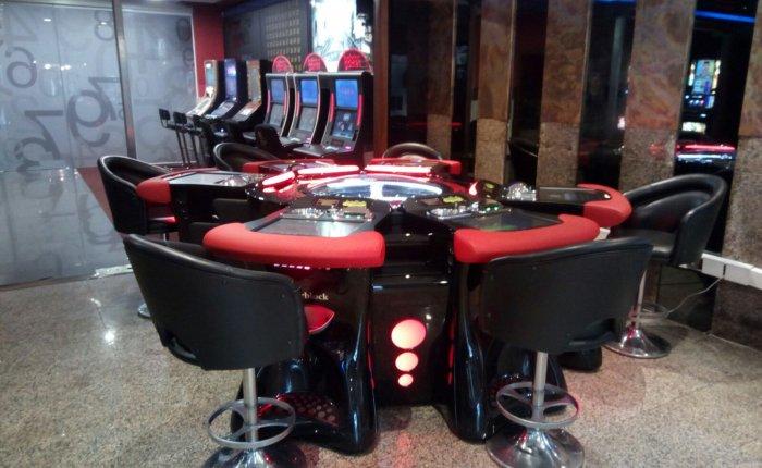 Bingo Pontevedra Comar, Sala de máquinas de juego