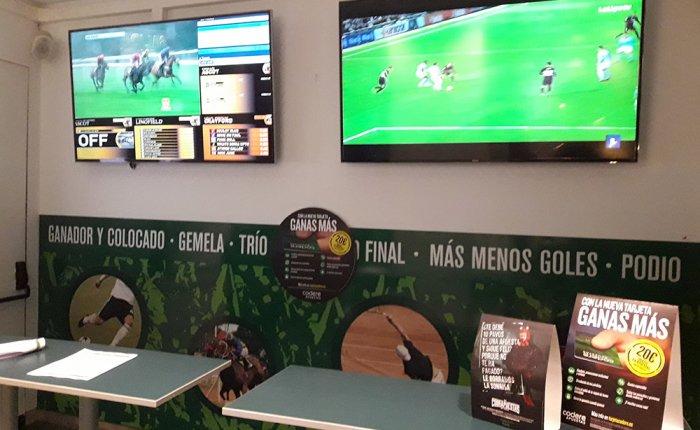 Bingo Royal Coruña Comar, Salón de apuestas deportivas