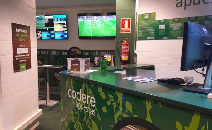 Bingo Royal Coruña Comar, Sala de apuestas deportivas
