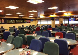 Bingo Royal Coruña Comar, Sala de bingo