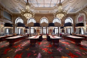 Casino Gran Vía Comar, Mesas Sala Juegos