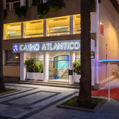 Casino Atlántico Comar A Coruña, Entrada