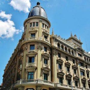 Casino Gran Vía Comar, Exterior Edificio
