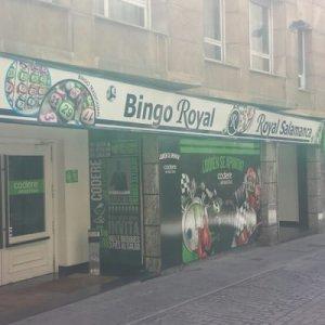 Bingo Royal Salamanca Comar, Exteriores