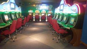 Royal Salamanca Comar, Sala de máquinas de juego