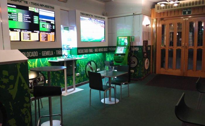 Royal Vigo Comar, Sala de apuestas deportivas