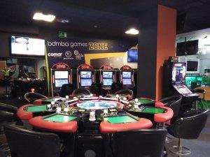 Royal Vigo Comar, Sala de máquinas de juego, Ruleta