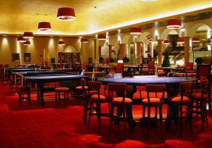 Casino Bahía de Cádiz Comar, Mesas de juego