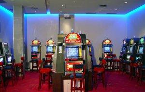 Casino Conde Luna Comar, Máquinas de juego