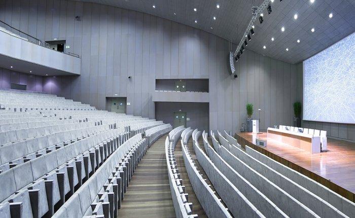Coruña Palexco Comar, Salón de actos