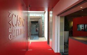 Gran Casino Melilla Comar, Salida