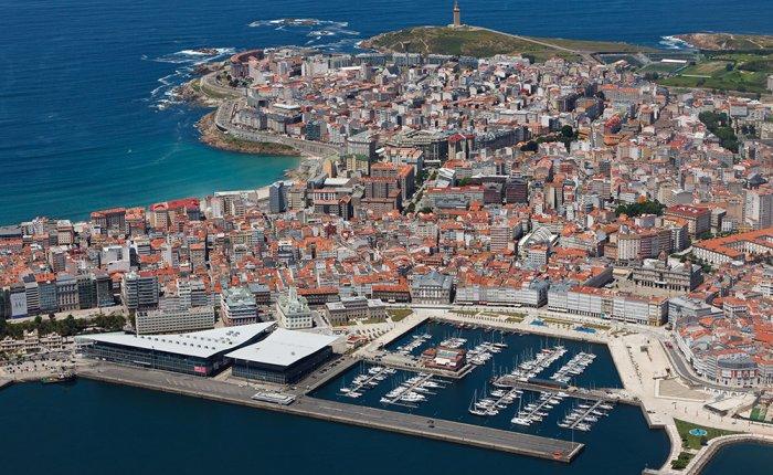 Los Cantones Village Comar, Vista Aerea A Coruña