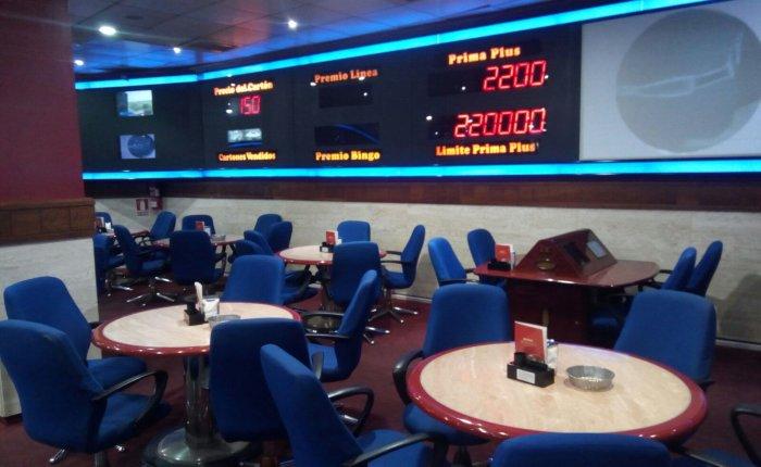 Bingo Pontevedra Comar, Sala de bingo