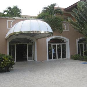 Casino Majestic Colonial Comar, Exteriores