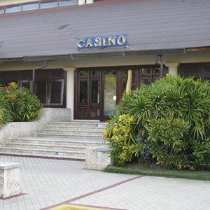 Casino Santana Comar, Exteriores