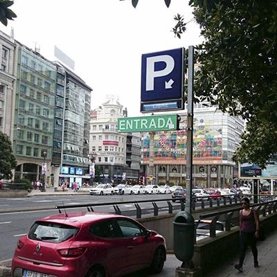 Comar, Parkings Públicos, Aparcamientos